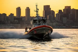 National Coast Guard Museum boat