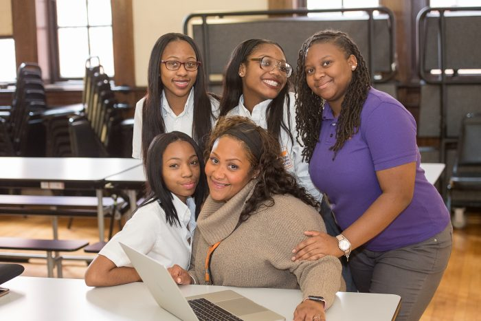 Baltimore-Leadership-School-for-Young-Women-classroom