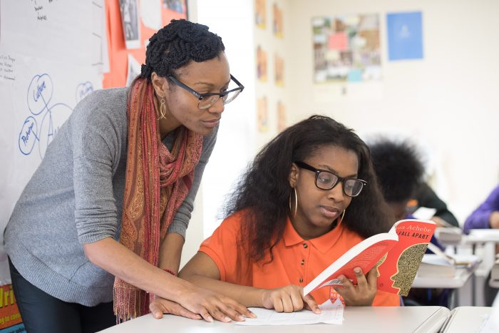 Baltimore-Leadership-School-for-Young-Women-teacher-with-student