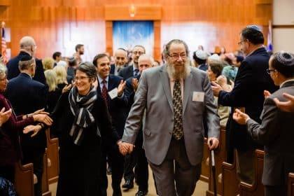Hebrew College ceremony