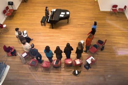 Hebrew College music smaller