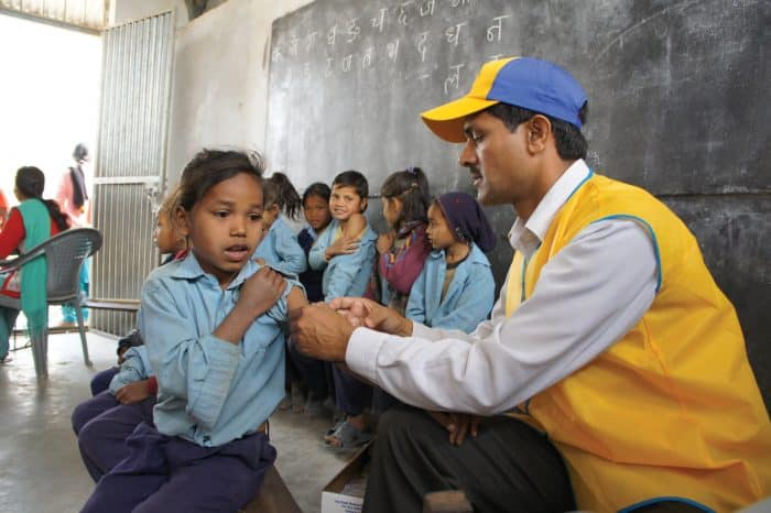 LIons Clubs International Foundation - measles
