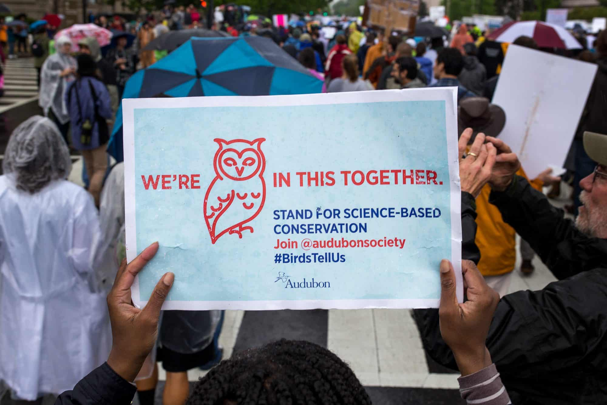 National Audubon Society - March for Science 2