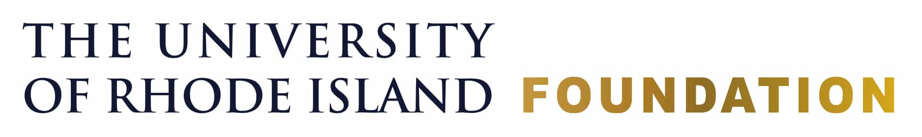 University of Rhode Island Foundation Logo