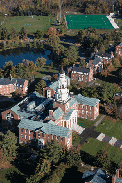colby-college-aerial