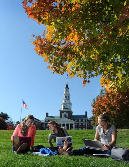 Colby-College-students-on-green